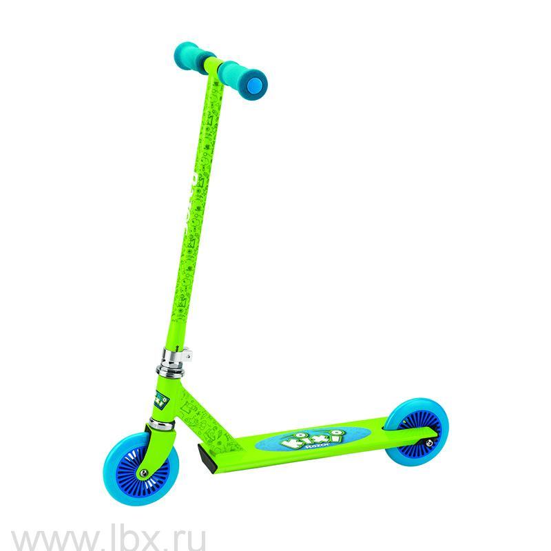 Самокат Mixi (Микси) зеленый с синим, Razor (Разор)