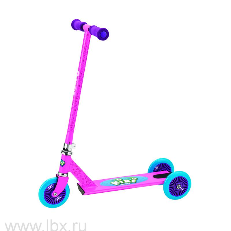 Самокат Mixi (Микси) розовый с фиолетовым, Razor (Разор)