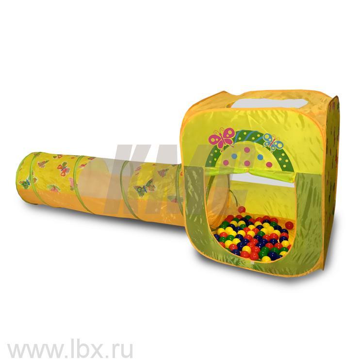 Игровой домик с туннелем и мячиками, Ching Ching (Чинг Чинг)