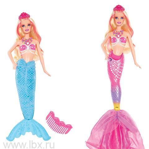 Кукла Русалка с волшебным хвостом из серии Жемчужная принцесса, Барби (Barbie)