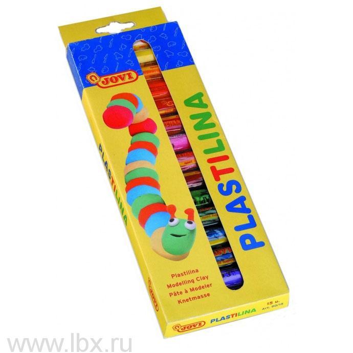 Пластилин цветнойJovi (Джови)