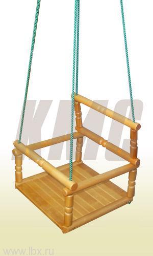 Качели деревянные детские, КМС