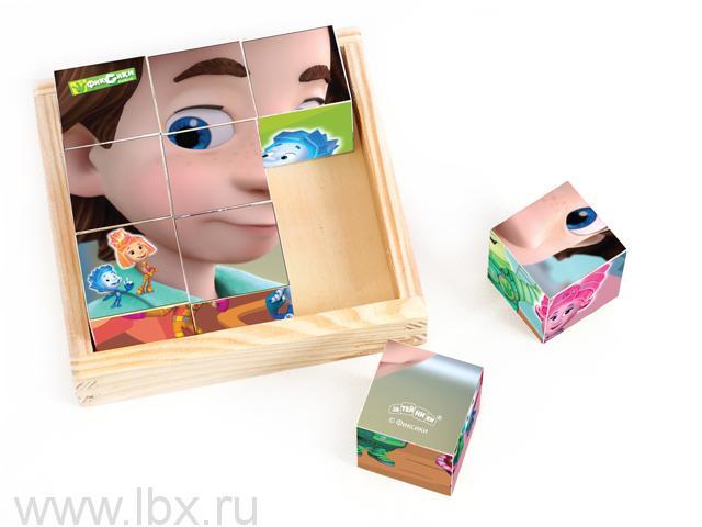 Кубики`Фиксики`, Мир деревянных игрушек