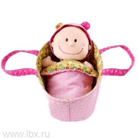 Мягкая куколка в переноске Lilliputiens (Лилипутенс)