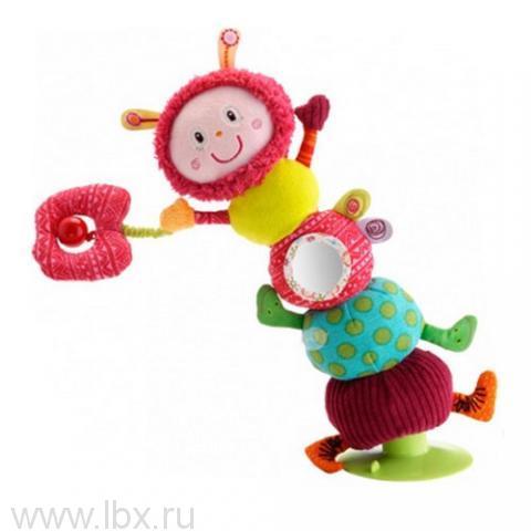 Гусеница Джульетта: игрушка на присоскеLilliputiens (Лилипутенс)