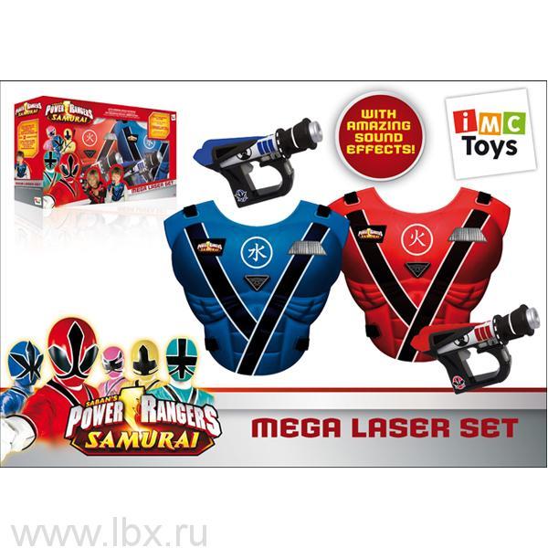 Набор 355088 с жилетами и пистолетами с инфракрасным лучом, IMC Toys (ИМЦ Тойз)