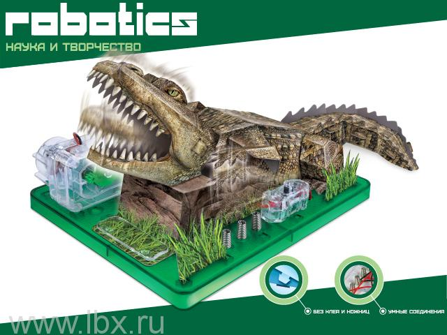 Научный опыт `Крокодил`, Amazing Toys Ltd
