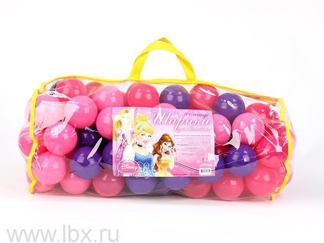 Шарики для бассейна `Принцесса` 100 штук, Disney (Дисней)