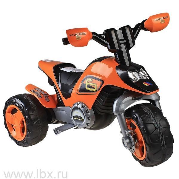 Мотоцикл `Molto Elite 6`, Полесье (Polesie), оранжевый