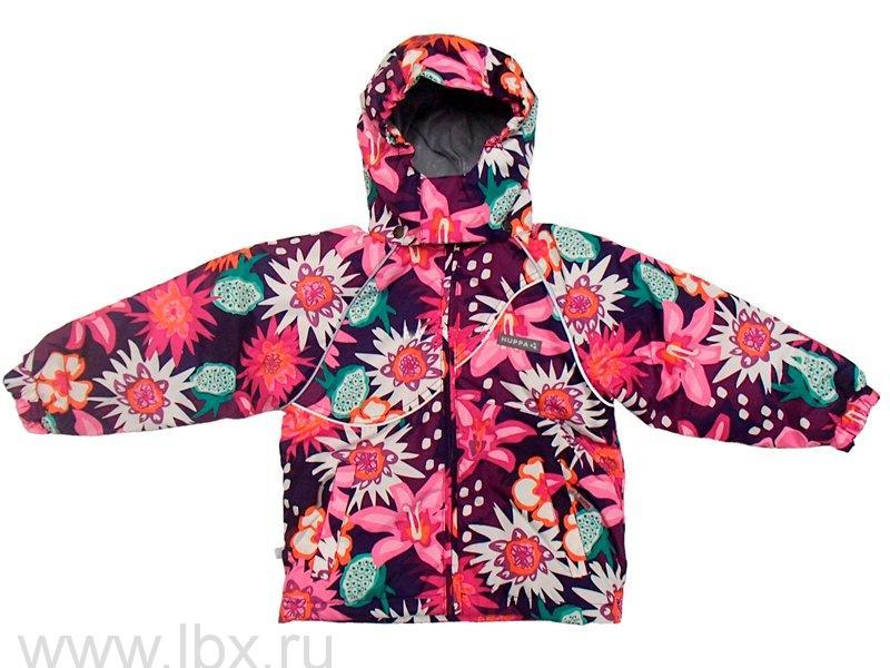 Куртка для девочки CAIT фиолетовый принт, Huppa (Хуппа)