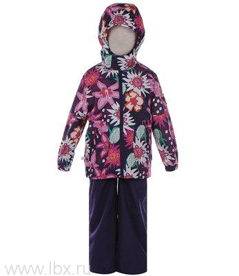 Комплект для девочки KAREN фиолетовый с цветами, Huppa (Хуппа)- увеличить фото