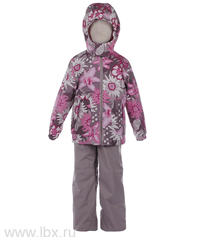 Комплект для девочки FREDERIC бежевый с цветами, Huppa (Хуппа)- увеличить фото
