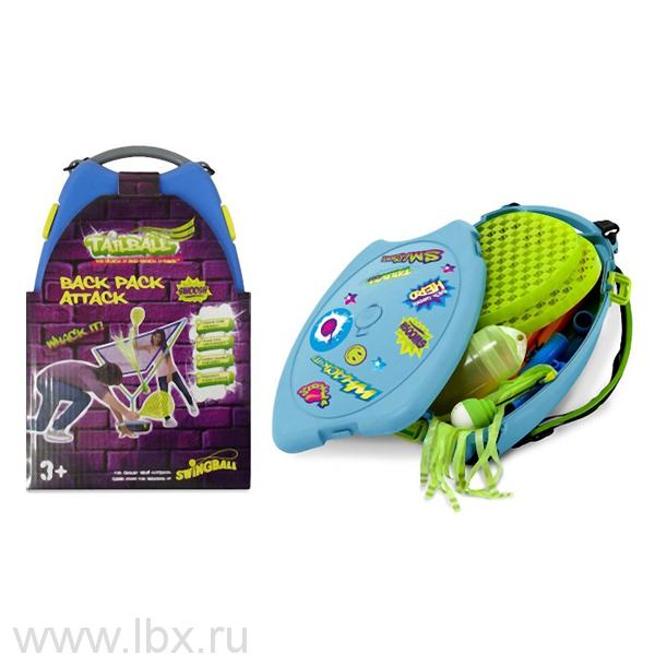 Бадминтон в рюкзаке Tailball Backpack Attack, Mookie (Моки)
