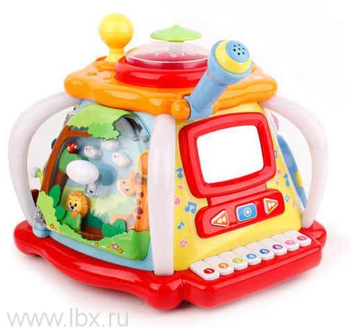 Развивающая игрушка Домик с звуковыми эффектами, Bright Pacific (Брайт Пасифик)