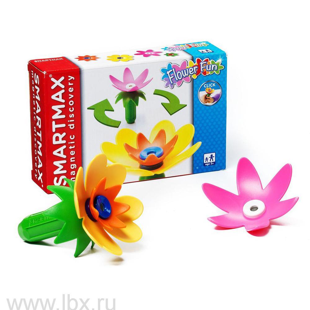 Магнитный конструктор SmartMax Забавные цветы (Специальный набор 110), Bondibon (Бондибон)