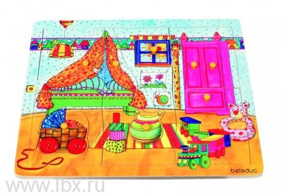 Пазл-вкладыш «Детская комната», Beleduc