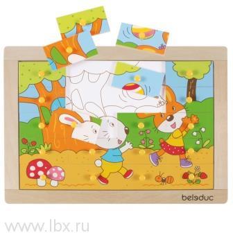 Пазл-картинка «Кролик», Beleduc