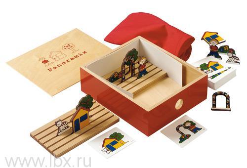 Игра для развития пространственного мышления «Панорама: дом, дерево, животное», Educo (Эдуко)