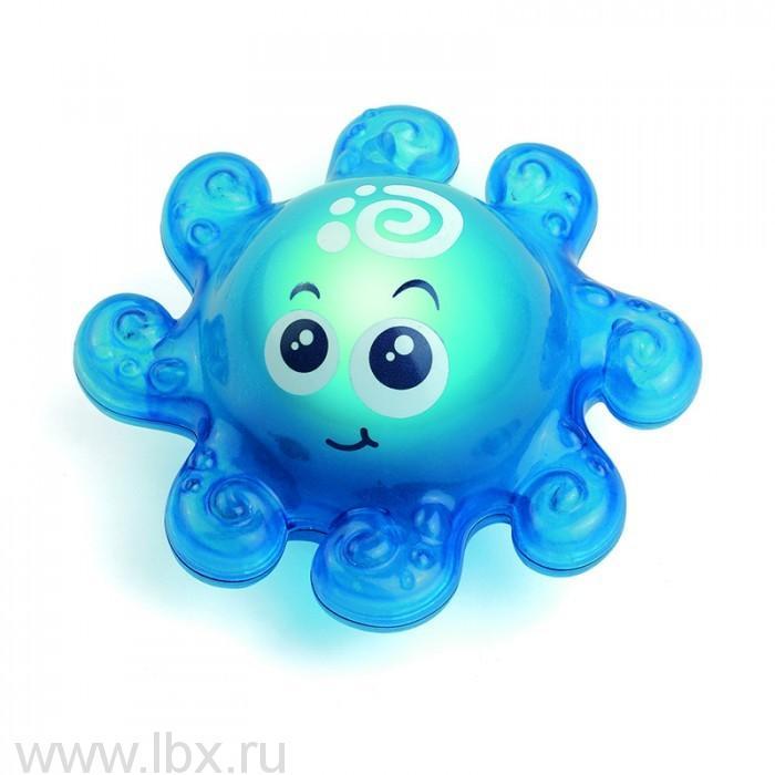 Игрушка для ванной со световым эффектом Осьминожек HapPKid (ХапПкид)
