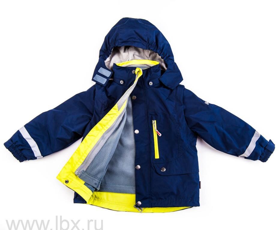 Куртка для мальчика 5 в 1 JAZZ черная/лайм, Huppa (Хуппа)