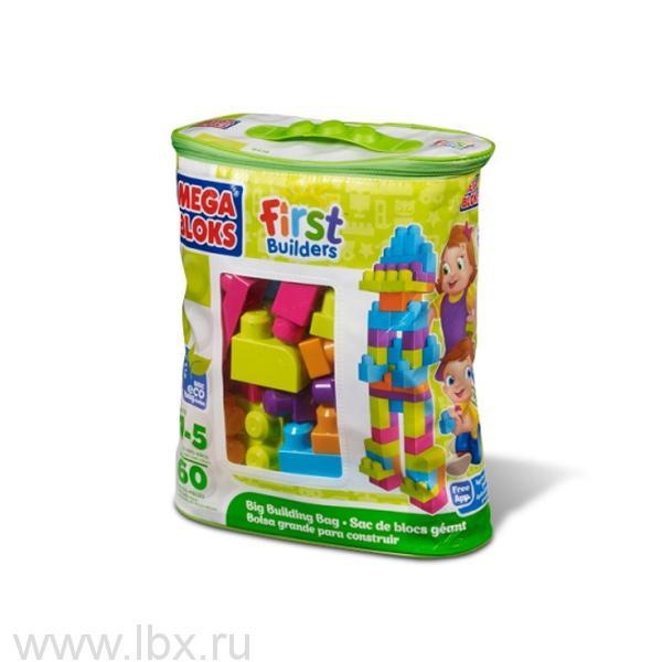 Сумка с деталями `Эко`, Mega Bloks (Мега Блокс), новые цвета