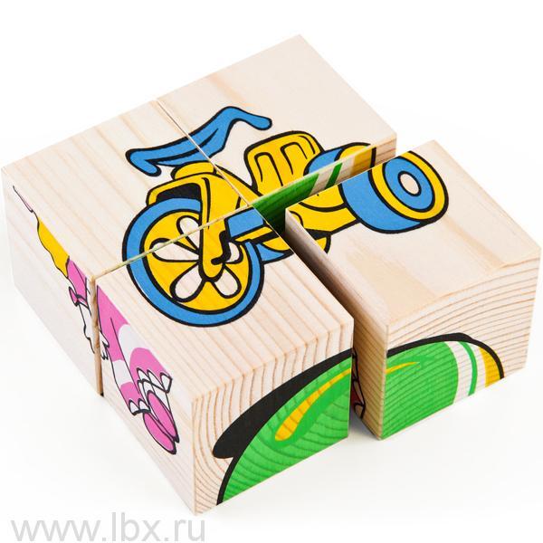 Кубики 3333-3 `Игрушки`, Томик