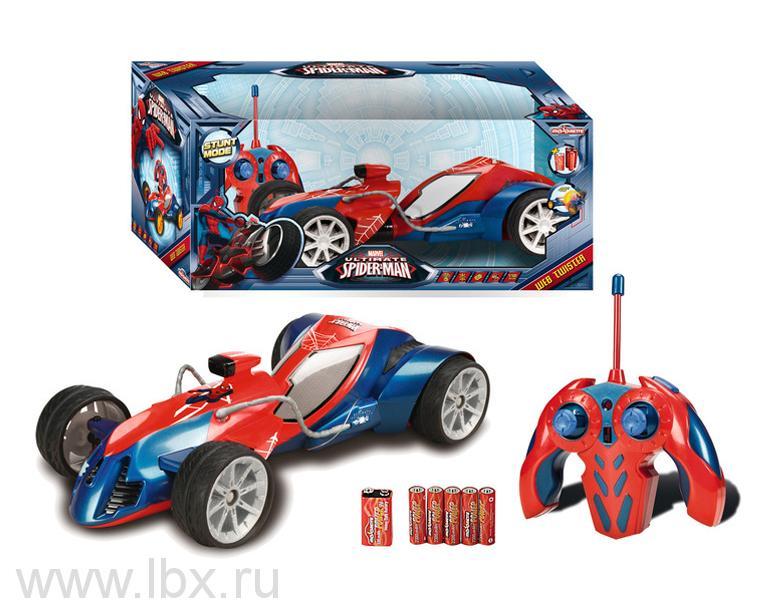 Авто на радиоуправлении `Человек паук`, Majorette (Маджорет)