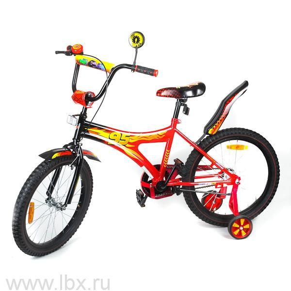 Велосипед детский Disney `Тачки-2` 16', Играем вместе