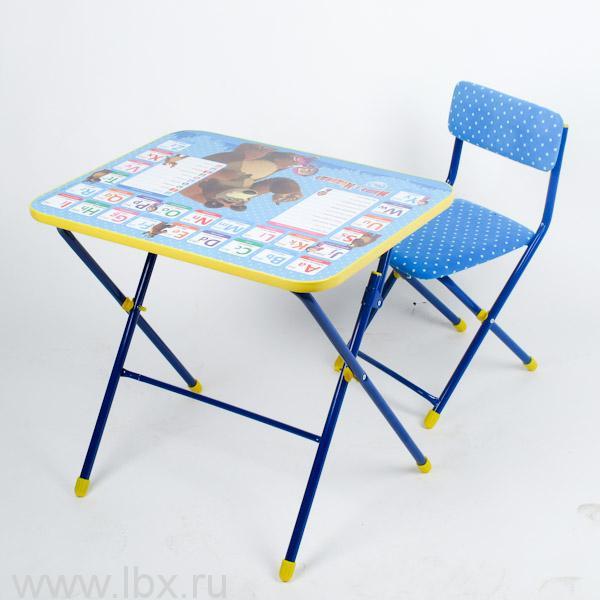 Набор детской мебели `Английская азбука. Маша и медведь.`, Nika (Ника)