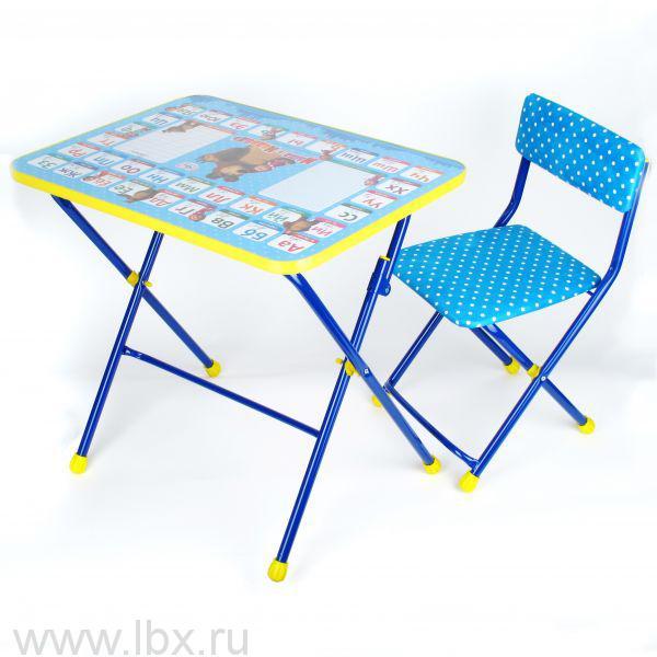 Набор детской мебели `Азбука 2. Маша и медведь.`, Nika (Ника)