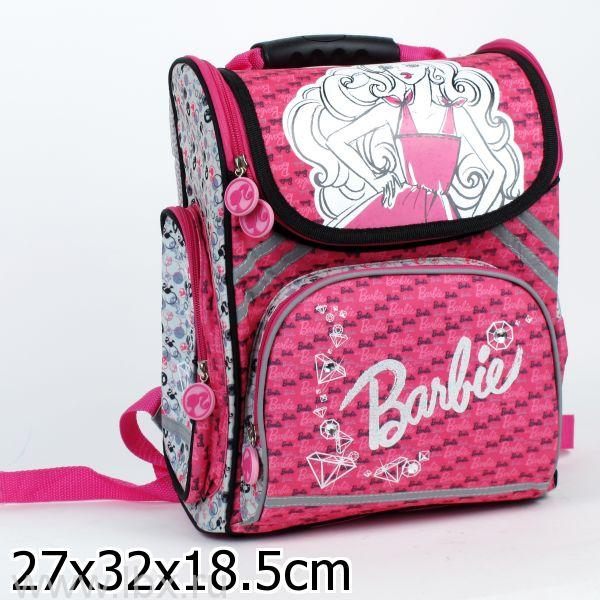 Рюкзак `Играем вместе` `Барби` ортопедический