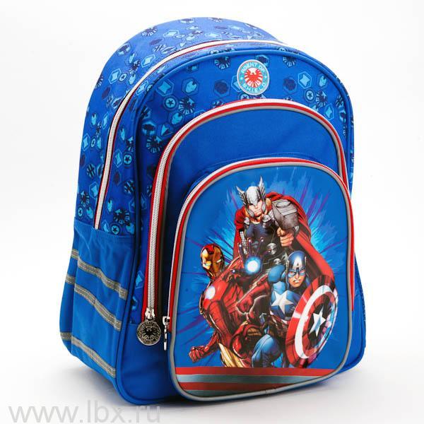 Рюкзак `Играем вместе` облегченный `Мстители` с ортопедической спинкой