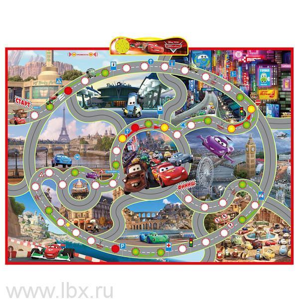 Интерактивный плакат Игра `Умка` `Правила дорожного движения` `Тачки` Disney