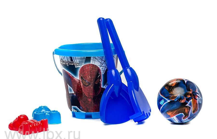 Песочный набор `Спайдермен`в рюкзаке на колесах Unice (Юниче)