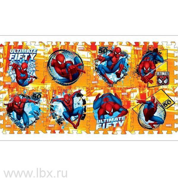 Коврик-пазл Человек-паук, Играем вместе