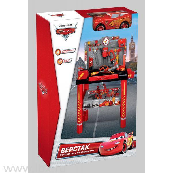 Игровой набор верстак, машина Маккуин, Winner Toys (Виннер тойз)