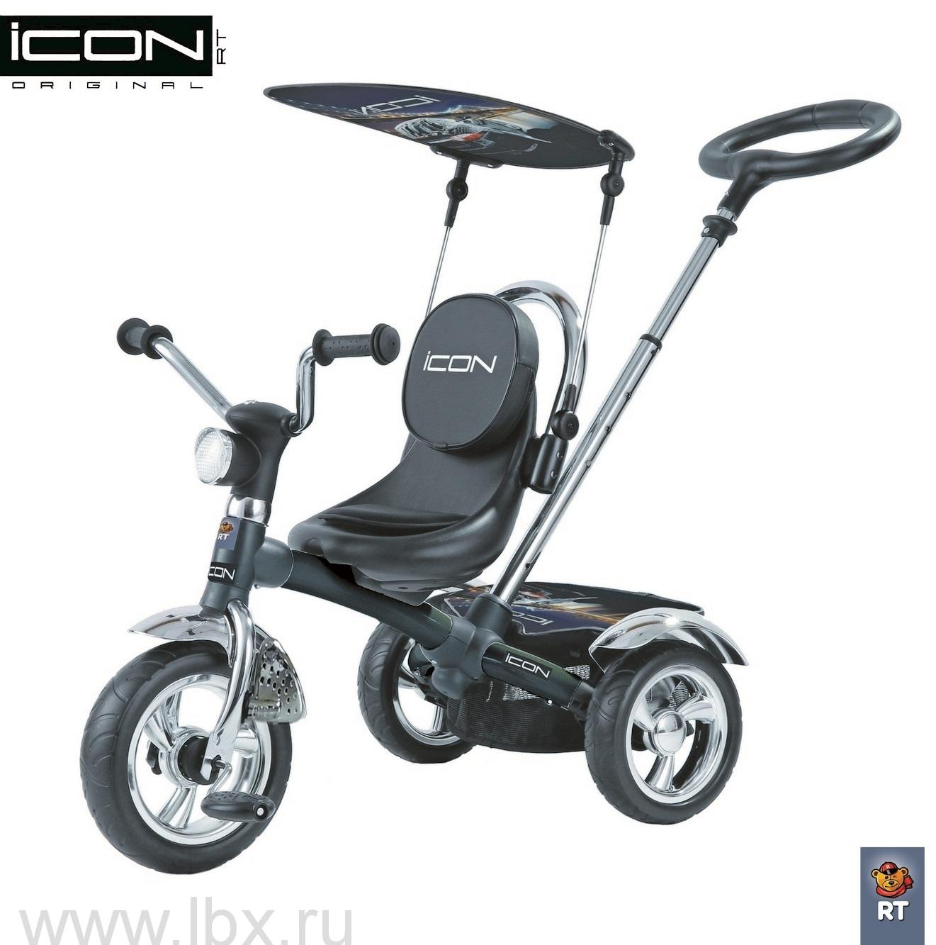 Велосипед Icon 4 Black mat Car Lexus Trike Original (Лексус Трайк)