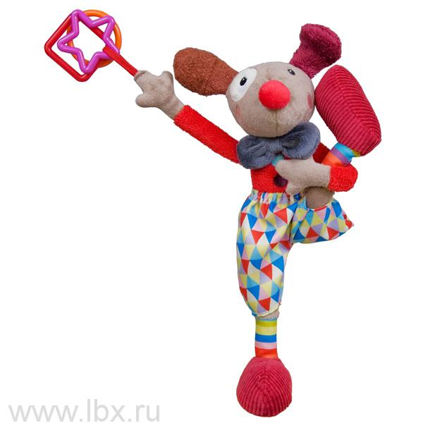 Развивающая игрушка `Клоун Альфред`, Ebulobo (Эбулобо)