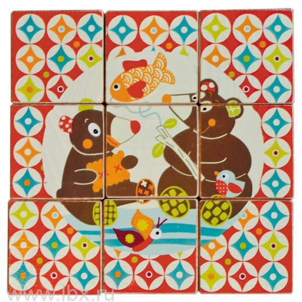 Кубики `Мишка`, Ebulobo (Эбулобо)