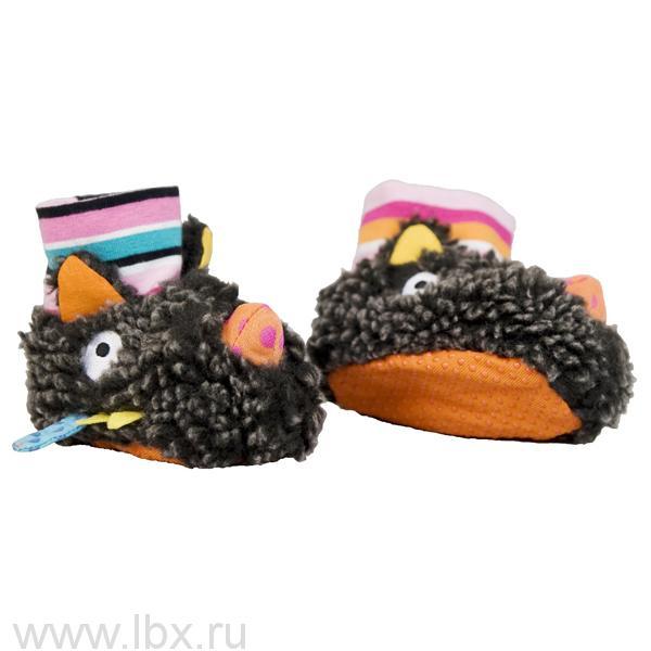 Ботиночки мягкие `Волчонок`, Ebulobo (Эбулобо)