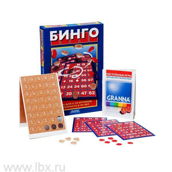 Настольная игра Бинго Bondibon (Бондибон)