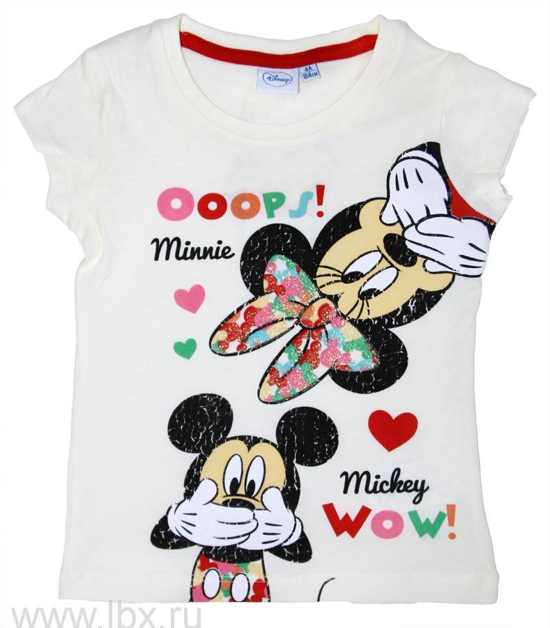 Футболка для девочек Disney TVMania (ТВМания)- увеличить фото