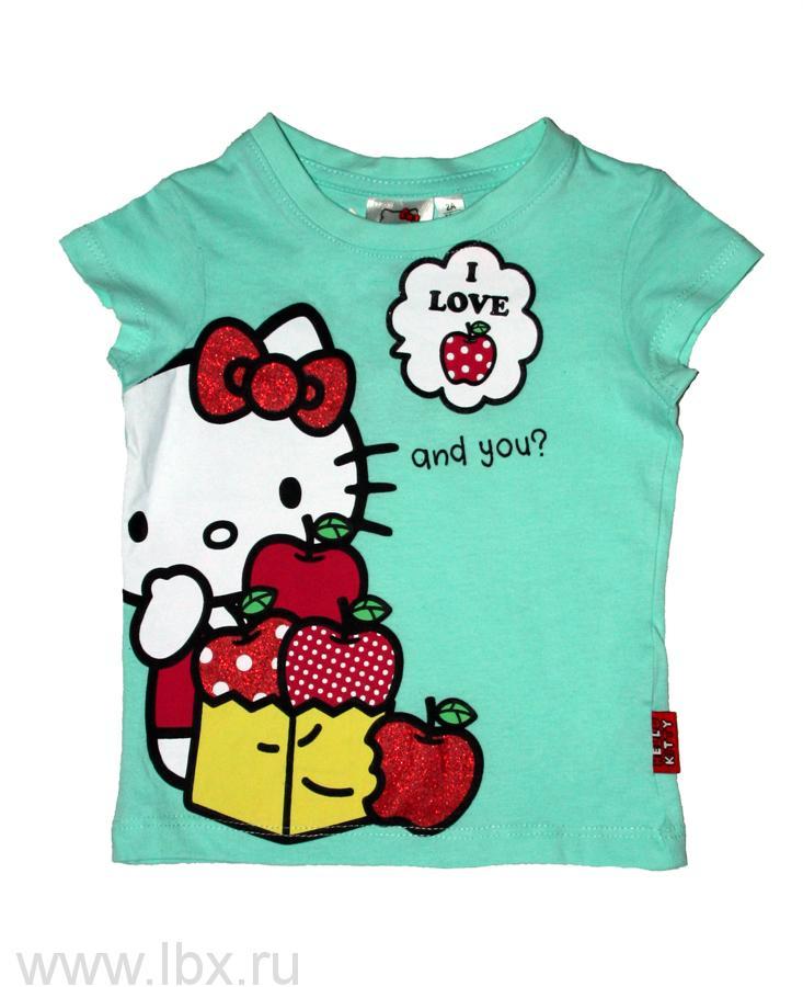 Футболка для девочек Hello Kitty TVMania (ТВМания)- увеличить фото