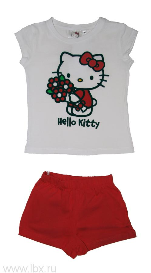 Пижама для девочки Hello Kitty TVMania (ТВМания)- увеличить фото