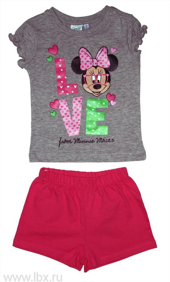 Пижама для девочки `Disney` TVMania (ТВМания)- увеличить фото
