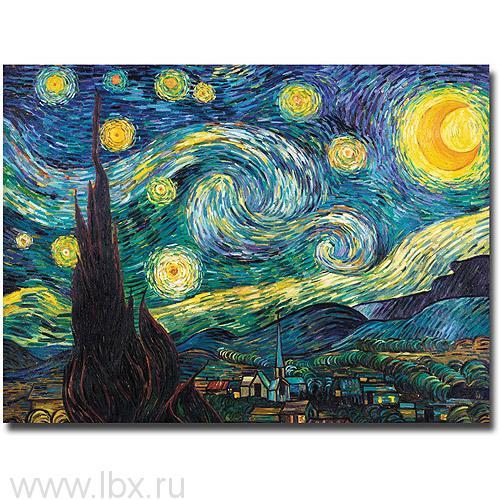 Репродукция «Звездная ночь» Ван Гог, Schipper (Шиппер)