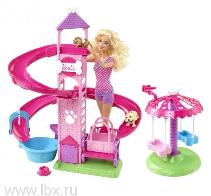 Игровой набор `Прогулка в парке с питомцами`, Barbie (Барби)