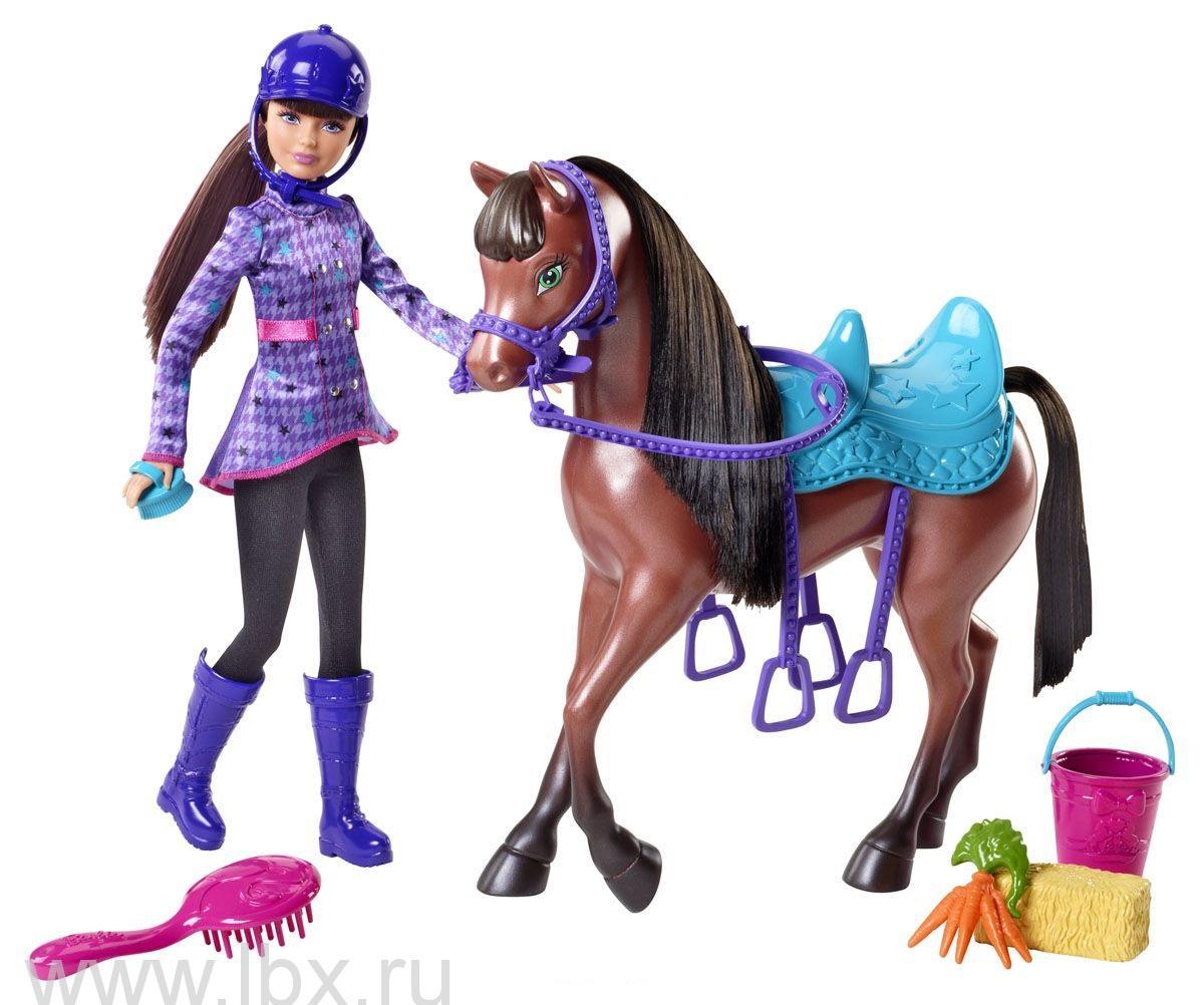 Сестры в сказке о пони - Скиппер с лошадкой, Barbie (Барби)