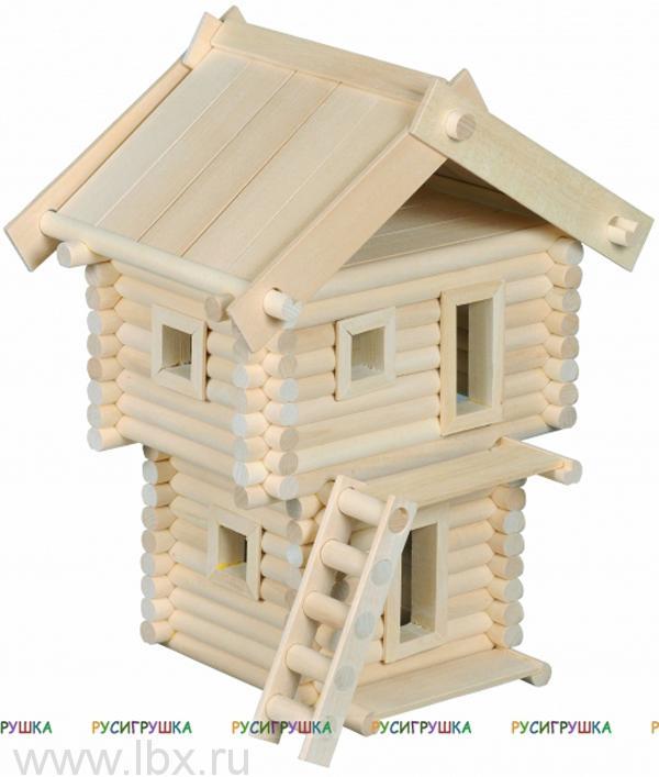 Дозорная башня, деревянный конструктор Русигрушка