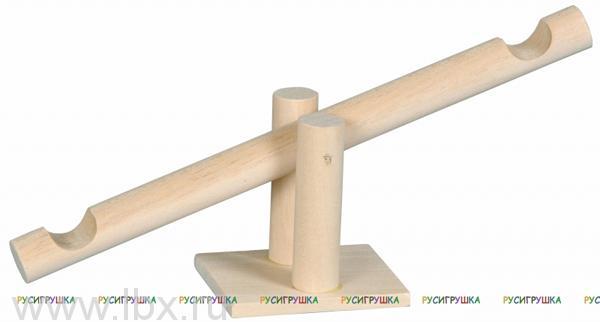 Качели деревянные Русигрушка